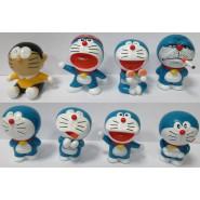 SET 8 Figures 5cm DORAEMON Space Cat Nobita
