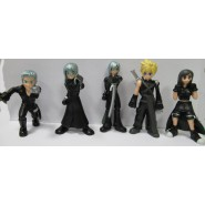 FINAL FANTASY VII Advent Children Set 10 Figures 10cm Cloud Strife Tifa
