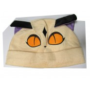 Hat CAT Beige Ears Violet Carnival Costume