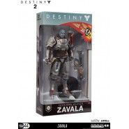 DESTINY 2 Action Figure ZAVALA 16cm + Accessories and Stand Original Videogame MCFARLANE