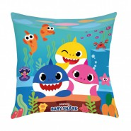 BABY SHARK Pillow Cushion 3 Characters 40x40cm Original OFFICIAL PinkFong