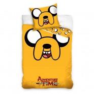 BED SET Original ADVENTURE TIME Jake The Dog Duvet Cover 140x200cm + 70x90cm 100% Cotton