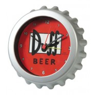 SIMPSONS Alarm Clock OROLOGIO TAVOLO Birra DUFF BEER Originale SUPER PREZZO NEW