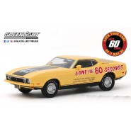 Model ELEANOR 1973 Ford Mustang With External Writings Movie Gone 60 Seconds 10cm Scale 1/43 DieCast Greenlight