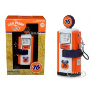 Die Cast Model GOOD GULF Series 7 GAS PUMP Premium Unleaded 1:18 Serie VINTAGE GAS PUMP COLLECTION Greenlight Collectibles