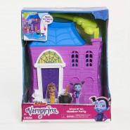 VAMPIRINA Playset CASTLE Stow & Go Slumber Party 2 Figures Originale JUST PLAY