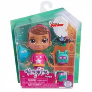 Blister Figure GHOUL GIRL POPPY Normal Vampirina Girl With BackPack 15cm Collectionable Original Disney Junior