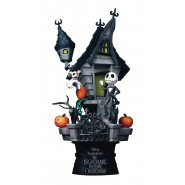 DIORAMA Statue THE NIGHTMARE BEFORE CHRISTMAS 15cm Original DISNEY Beast Kingdom D-Select 035