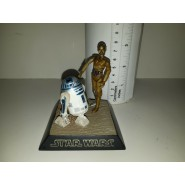 RARE Trading Figure Diorama R2-D2 and C-3PO Star Wars ORIGINAL Tomy Japan