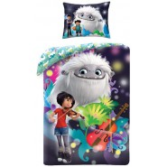 BED SET Cotton Duvet Cover ABOMINABLE Girl With Violin 140x200cm