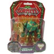 GORMITI Action Figure OMEGA KRATUS Posable 8cm Original Giochi Preziosi