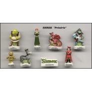 SHREK Rare PROTOTYPE Proto SET 8 Mini Figures PORCELAIN French Collection FEVES