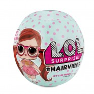 L.O.L. HAIRVIBES Mix And Match Hair SPHERE DOLL Serie 1 ORIGINAL LOL Surprise MGA