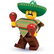 LEGO Minifigures SERIE 2 8684 Number 1 MEXIKANER Maracas Sachet New