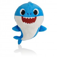 PLUSH Soft Toy 25cm DADDY SHARK BLUE from BABY SHARK With Music Song ORIGINAL