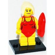 LEGO Minifigures SERIE 2 8684 Number 8 LIFE GUARD Girl Sealed Sachet New