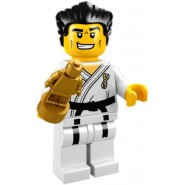 LEGO Minifigures SERIE 2 8684 Number 14 Judo JUDOKA Sealed Sachet New