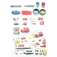 CARS Complete Set 6 Surprises Pencil Eraser Stickers School Elementary Gashapon