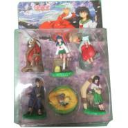 INUYASHA Complete Set 6 Figures 8cm Blister