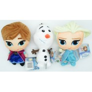 Baby OLFA ANNA and ELSA Complete Set 3 Plush 17cm from FROZEN Original Simba DISNEY