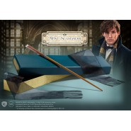 FANTASTIC BEASTS Magical NEWT SCAMANDER WAND With OLIVANDER BOX Original NOBLE COLLECTION NN5622