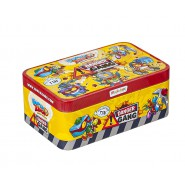 SUPERZINGS COLLECTOR TIN Metal 5 Figures DANGER GANG Original Super Zings
