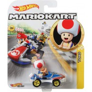 DieCast Model Car TOAD Sneeker KART From SUPER MARIO Scale 1:64 5cm Hot Wheels