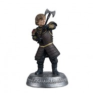 GAME OF THRONES Figure Statue 6cm TYRION LANNISTER With Axe Original Eaglemoss HBO