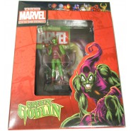 GREEN GOBLIN With Character Booklet Figure LEAD 8cm Classic Figurine Collection Serie MARVEL Eaglemoss