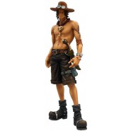 ONE PIECE Figure THE PORTGAS D. ACE Big 30cm SUPER Master Stars Piece BANPRESTO
