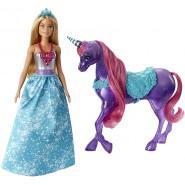 BARBIE Dreamtopia Doll With Unicorn Original MATTEL FPL89