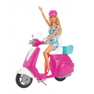 BARBIE Scooter and Helmet Doll Original MATTEL GBK85