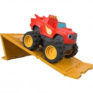 BLAZE Off-road Red With Ramp Fisher Price FJP82