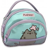PUSHEEN Cat Trousse Two Pockets 18x16cm Original Purrfect Jugavi