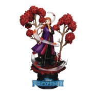 DIORAMA Statue from Frozen 2 ANNA 10cm Original DISNEY Beast Kingdom D-Select 038