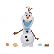 OLAF Plastic Character 22cm WITH SOUND Original FROZEN Adventure Original SnackTime