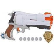 NERF Gun McCREE and Badge Special Version RIVAL OVERWATCH ORIGINAL Hasbro