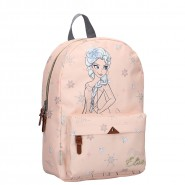 BACKPACK With Pocket PRINCESS ELSA GRATEFUL Peach Color 36x25x14cm from FROZEN 2 Original DISNEY