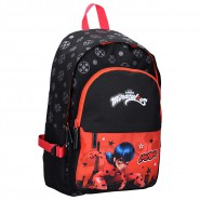 BACKPACK With Pocket MARINETTE Miraculous Ladybug BIG 45x25x13cm ORIGINAL