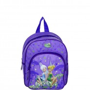 BACKPACK With Pocket DISNEY FAIRIES Tinkerbell SMALL 31x25x9cm ORIGINAL