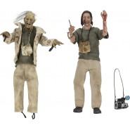 TEXAS CHAINSAW MASSACRE Box 2 Action Figures Nubbins Sawyer HITCHHIKER and Nubbins Puppet 20cm Neca