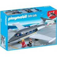 Playset PRIVATE JET PLANE Original PLAYMOBIL 5619 City Action