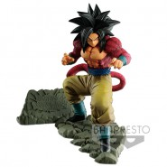 DRAGONBALL Figure Statue SON GOKU SUPER SAIYAN 4 DOKKAN BATTLE Original BANDAI Banpresto