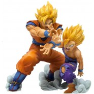 Box 2 Figures DIORAMA Statues GOKU and GOHAN Original DRAGONBALL Z Vs EXISTENCE Banpresto BANDAI