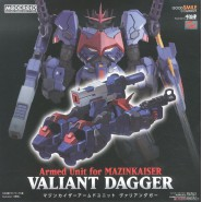 VALIANT DAGGER Model Kit Armed unit for MAZINKAISER Moderoid 17cm Original GOOD SMILE
