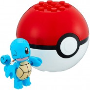 Pokemon SQUIRTLE with POKEBALL Mini Figure BLOKS Original MEGA CONSTRUX
