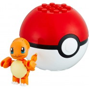 Pokemon CHARMANDER with POKEBALL Mini Figure BLOKS Original MEGA CONSTRUX