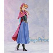 Figure Statue ANNA 18cm Disney FROZEN SEGA Japan Prize