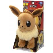EEVEE Evoli Fox PLUSH 18cm ORIGINAL Pokemon TOMY Japan