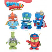 SET 5 Plush 20cm SUPERZINGS Normal Kid Kazoom Enigma Professor K Kid Fury Mr. King Original MAGIC BOX Play By Play